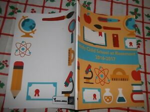 YEARBOOK HOLY CHILD SCHOOL AT ROSEMONT PA 2016-2017 K-8th Grades Good Like NEW