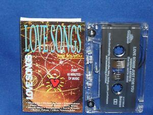 LOVE SONGS JUST FOR YOU - RARE AUSTRALIAN CASSETTE TAPE NM