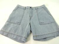 LEVIS LEVI STRAUSS WOMENS LIGHT WASH DENIM JEAN SHORTS SIZE 10 SUPER CUTE!