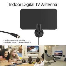Long Range Flat Digital Indoor HDTV DTV PC Notebook Antenna VHF UHF TV HD R9A1