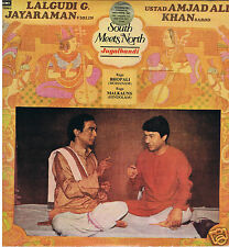 LP INDIA LALGUDI G.JAYARAMAN & USTAD AMJADALI KHAN SOUTH MEETS NORTH