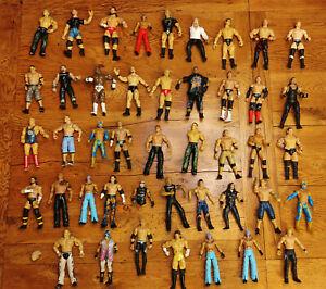 43 WWE Wrestling Figure Fodder Elite Mattel Jakks WWF Joblot Bundle Figures