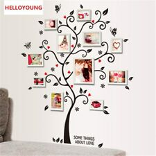 Family Photo Tree Wall Stickers Decoration Decal Wandtattoos Kids Photoframe Art
