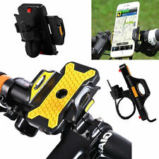 Motorcycle MTB Bike Bicycle Handlebar Mount Holder For Ipod Cell Phone GPS New
