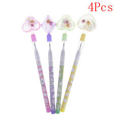4Pcs mutil-head heart bullet automatic mechanical pencil for writing stationery