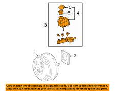 TOYOTA OEM-Brake Master Cylinder 4720106290