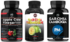 Angry Supplements 3-Pack: Apple Cider Vinegar, Garcinia Thermogenic, Garcinia PM