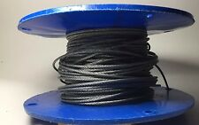 """7x  Galvanized Aircraft Cable Wire Rope 3/32"""" ~250-300 ft"""
