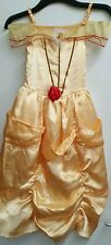 Disney Princess Beauty And The Beast Belle Fancy Dress Costume 6-8 Years