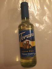 Torani Sugar Free French Vanilla Syrup
