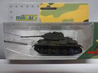 Herpa 745574 Kampfpanzer T-34 / 85 undekoriert Panzer Military Militär 1:87 Neu