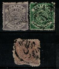 India Hyderabad 1908 1911 Postage to 2 annas SG24-25, 27 Used