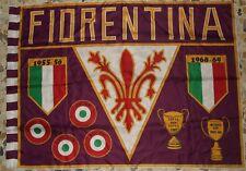 SCIARPA SCARF BANDIERA FLAG CALCIO ULTRAS FIORENTINA 70'S (637)