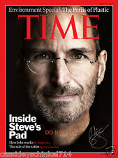 "Steve Jobs 8x10"" reprint signed photo #1 RP Apple Inc Founder Pixar Studios"