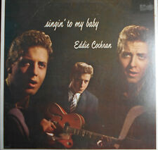 "EDDIE COCHRAN   LP   US  LIBERTY "" SINGIN' TO MY BABY ""  [RE 1981]"