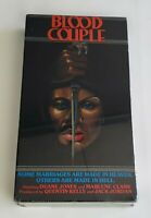 NEW Video Gems VHS Blood Couple 1985 RARE Horror Cult Blaxploitation Duane Jones