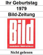 Bild-Zeitung 1979 - Ihre Wunschausgabe - Ungelesen