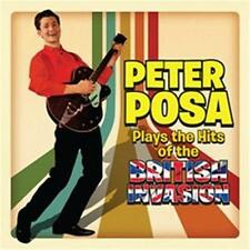 PETER POSA PLAYS THE HITS OF THE BRITISH INVASION CD NEW