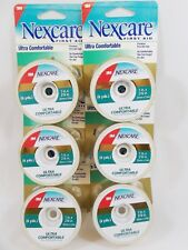3M Nexcare 6 Ultra Comfort Thin Premium Bandage Tape Breathable Easy Tear 6 yds