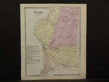 Maine/York County Map, 1872, Town of Saco, Z4#92