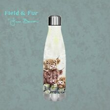 Vacuum Flask Hot /& Cold Highland Cows by Jane Bannon Water Bottle
