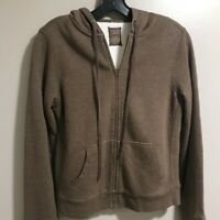EUC J. Crew Vintage Fleece Hoodie Full Zip Jacket