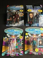 Star Trek TNG Action Figures Crusher Troi No Punch Cards Nausican SESKA