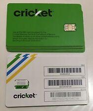 🔵 Cricket 🌐 ___  Nano ____ Sim Card ____ 🔵 new service // replacement 🔵 NEW