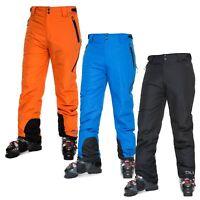 DLX Mens Ski Pants Waterproof Ski Trousers Warm Black Blue Orange