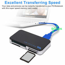 All in 1 USB 3.0 Multi Card Reader 5Gbps with Micro-SD MS XD