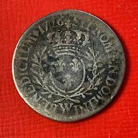 #5062 - Louis XV 1/5 écu 1726 W Lille TB