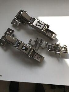 2 x Blum 74.1103 charnière des limiteurs//angle arrêts pour 107 degré Charnières