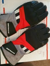 GS Dry Gloves-Womens Black/Red Genuine BMW Motorrad Motorcycle Size 7 -small