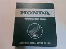 1979 1980 1981 1982 Honda CB750S Shop Service Manual STAINED WATER DAMAGED OEM