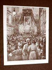 Roma nel 1899 Congresso degli orientalisti L'inaugurazione all'università