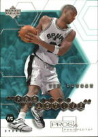 2001-02 Upper Deck Pros and Prospects ProActive #PA3 Tim Duncan - NM-MT