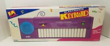 LA Rock Electronic Keyboard New Old Stock Retro Vintage Purple Blue music DSI