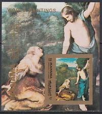 Manama 1971 ** Mi. Bl.187 B Gemälde paintings