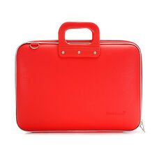 "Bombata - Red Classic 15"" Laptop Case/Bag with Shoulder Strap"