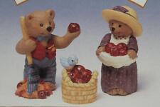Hallmark Merry Miniatures-'Apple Harvest' 1997 Personalities Set of 3 New In Box