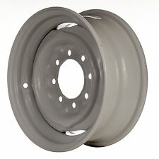01599 OEM Reconditioned Steel wheel 16x6; WHITE, Fits 1978-1991 Ford F-250