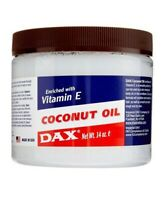 DAX COCONUT  OIL WITH VITAMIN E FOR HAIR AND SKIN 7.5 Oz & 14 Oz