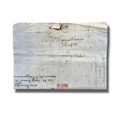 1697 Venice Italy Italia to Malta Entire Letter Cover Postal History #004918