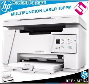 Multifunzione HP Bianco e Nero Laserjet Pro M26A 18PPM USB T0L45A 600X