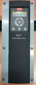 DANFOSS VLT HVAC BASIC DRIVE INVERTER P/N 131N018, 1.5 KW 3.5A 2.0 HP MOTOR FAN