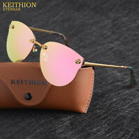 HD Polarized Sunglasses Womens Driving glasses Cat Eye UV400 Mirror Eyewear