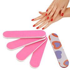 5Pcs Mini Nail Sanding Files Polish Buffer Block Manicure Pedicure Tips Tools