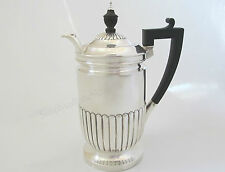 1900 Henry Stratford Solid Silver Hot Water/Coffee Pot - London