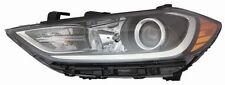 FITS HYUNDAI ELANTRA SEDAN 2017 LEFT DRIVER HEADLIGHT HEAD LIGHT FRONT LAMP