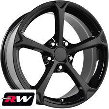 "17"" / 18"" inch Wheels for Chevy Corvette C4 1988-1996 Black C6 Grand Sport Rims"